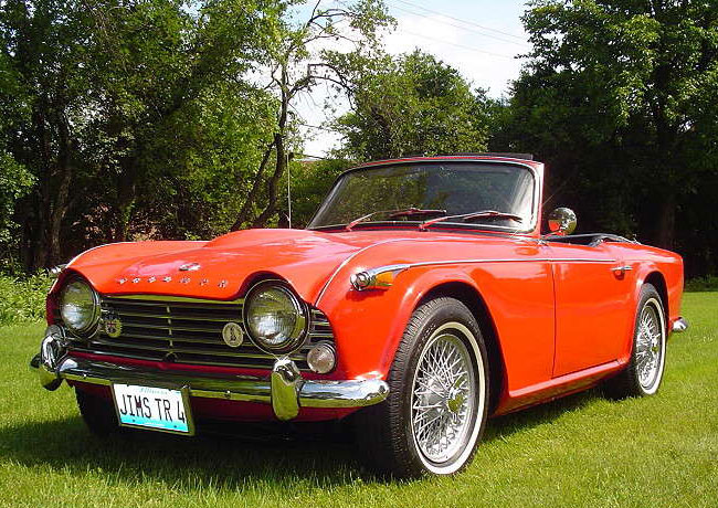 Tr4a Triumph Club Vintage Triumph Register